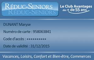 carte reduc seniors